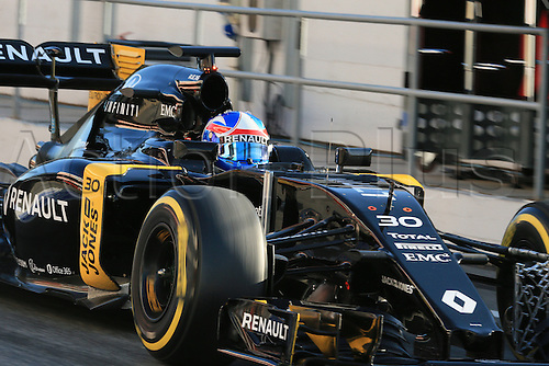 04.03.2016. Circuit de Barcelona Catalunya, Barcelona, Spain, Formula 1  Test 2 Day 4.  Renault Sport F1 Team RS16 – Jolyon Palmer