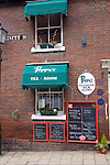 Poppy's Victorian tea rooms, Trinity Street, Colchester, Essex