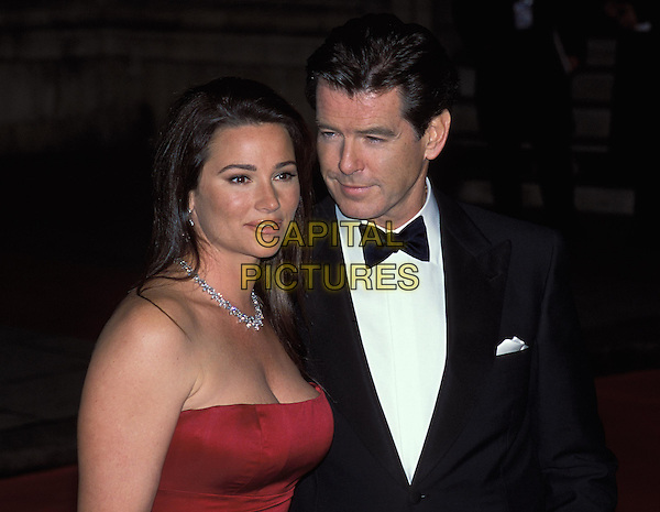 "KEELY SHAYE SMITH, PIERCE BROSNAN .James Bond Film Premiere, ""Die Another Day"" at the Royal Albert Hall.sales@capitalpictures.com.www.capitalpictures.com.©Capital Pictures"
