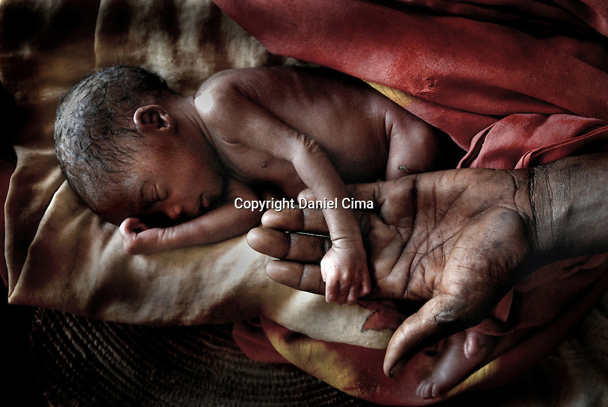 Rape victims give birth to many of the children born in Bredjing Camp in the West side of Chad.