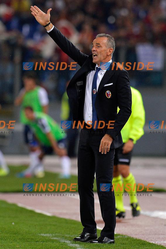 Stefano Pioli allenatore del Bologna <br /> Roma 29-09-2013 Stadio Olimpico <br /> Football Calcio Campionato Italiano Serie A<br /> Roma - Bologna<br /> Foto Andrea Staccioli Insidefoto