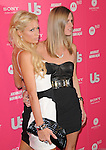 Nicky Hilton & Paris Hilton at the Annual US Weekly Hot Hollywood Style Party at Drai's in Hollywood, California on April 22,2010                                                                   Copyright 2010  DVS / RockinExposures