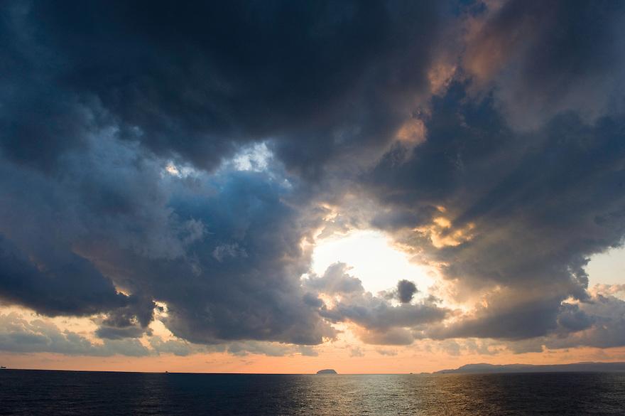 Sky near by Antikythera island, Antikythera, Greece
