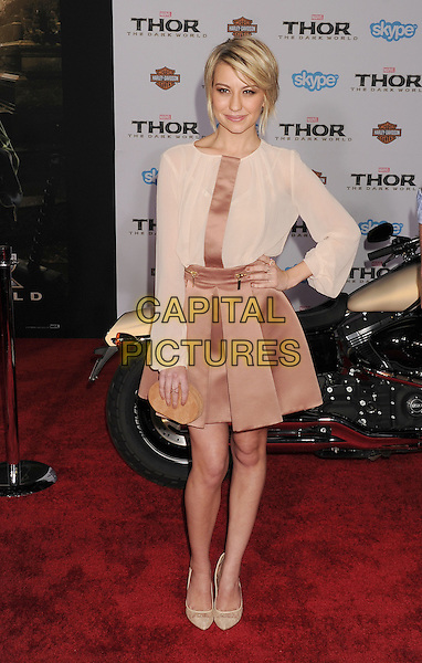 HOLLYWOOD, CA - NOVEMBER 04: Chelsea Kane at the Los Angeles Premiere 'Thor: The Dark World' at the El Capitan Theatre on November 4, 2013 in Hollywood, California, USA.<br /> CAP/ROT/TM<br /> &copy;Tony Michaels/Roth Stock/Capital Pictures