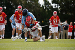 2017 March 25: Dylan Maltz #25 of Maryland Terrapins during a 15-7 win over the North Carolina Tar Heels at Fetzer Field in Chapel Hill, NC.