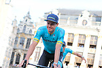 Jakob Fuglsang (DEN) Astana Pro Team at the team presentation held on the Grand-Place before the 2019 Tour de France starting in Brussels, Belgium. 4th July 2019<br /> Picture: Colin Flockton | Cyclefile<br /> All photos usage must carry mandatory copyright credit (© Cyclefile | Colin Flockton)