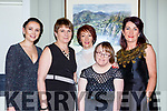 Eve O'Donoghue, Eileenand Janet O'Donoghue, Anne Mangan and Marguerite Brosnan at the Kerry Stars ball in the Malton Hotel on Saturday night