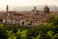Florence from Piazza Michelangelo, Italy, Europe, 2007, ©Stephen Blake Farrington