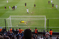 Joe Jacobson of Wycombe Wanderers scores his goal from the penalty spot during the Sky Bet League 2 match between Barnet and Wycombe Wanderers at The Hive, London, England on 17 April 2017. Photo by PRiME Media Images.