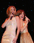 Kassie DePaiva and Bobbie Eakes - The Divas of Daytime TV performed a Christmas Show on December 5, 2009 at the Broadway Theatre in Pitman, New Jersey. (Photos by Sue Coflin/Max Photos)