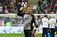 Torwart Marc-Andre ter Stegen (Deutschland Germany)- 16.10.2018: Frankreich vs. Deutschland, 4. Spieltag UEFA Nations League, Stade de France, DISCLAIMER: DFB regulations prohibit any use of photographs as image sequences and/or quasi-video.