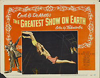 The Greatest Show on Earth (1952) <br /> Lobby card with Cornel Wilde &amp; Gloria Grahame<br /> *Filmstill - Editorial Use Only*<br /> CAP/MFS<br /> Image supplied by Capital Pictures