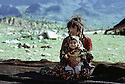 Irak 1973.Enfants de nomades dans le Badinan.Iraq 1973.Children  in Badinan.