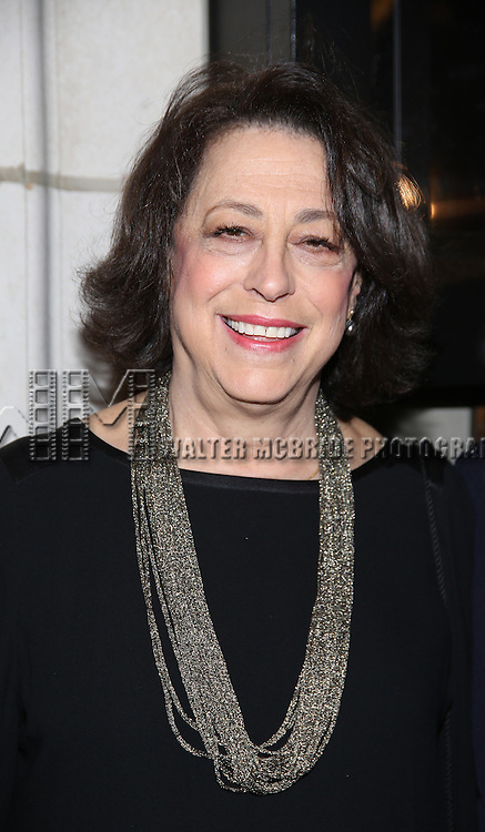 Lynne Meadow attend the Manhattan Theatre Club's Broadway debut of August Wilson's 'Jitney' at the Samuel J. Friedman Theatre on January 19, 2017 in New York City.