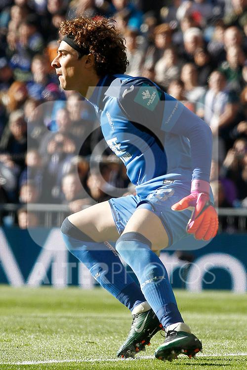 Granada CF's Guillermo Ochoa during La Liga match. January 7,2016. (ALTERPHOTOS/Acero)