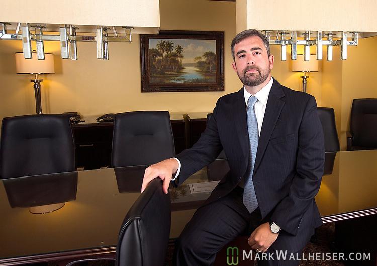 Ryan E. Matthews with Peebles, Smith & Matthews lobbying firm in Tallahassee, Florida.