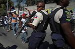 Riots in the streets of Port au Prince accused of fraud in the eletions of November 28 of 2010..Protestas ciudadanas en las calles de Puerto Principe acusando de fraude en las elecciones del 28 de noviembre . Photo by Jose L. Cuesta