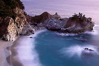 California, Big Sur, Julia Pfeiffer Burns State Park, waterfall
