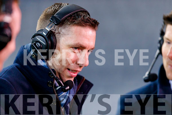 Commentator Marc O'Se after the Allianz Football League Division 1 Round 1 match between Dublin and Kerry at Croke Park on Saturday.
