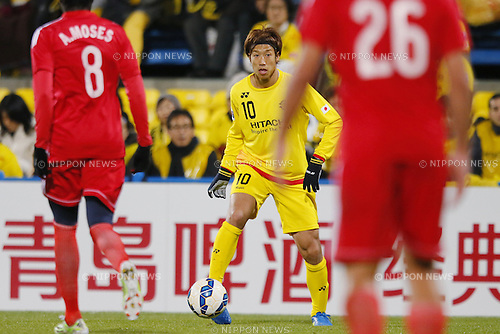 Yuki Otsu (Reysol), March 3, 2015 - Football / Soccer : 2015 AFC Champions League Group E match between Kashiwa Reysol 5-1 Binh Duong at Hitachi Kashiwa Stadium in Chiba, Japan. (Photo by Yusuke Nakanishi/AFLO SPORT) [1090]