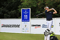 Tom Shadbolt (ENG) on the 11th tee during Round 1 of the Northern Ireland Open at Galgorm Castle Golf Club, Ballymena Co. Antrim. 10/08/2017<br /> Picture: Golffile | Thos Caffrey<br /> <br /> <br /> All photo usage must carry mandatory copyright credit     (&copy; Golffile | Thos Caffrey)