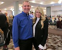 NWA Democrat-Gazette/CARIN SCHOPPMEYER Joe and Larra Donaldson help support the Children's Safety Center on March 5.