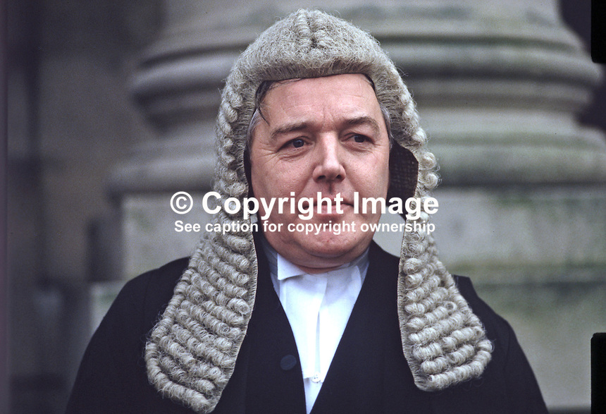 Patrick MacEntee, senior barrister, state counsel, Rep of Ireland, Queen's Counsel, UK, 19850017PME1.<br />