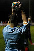 Matt Eliet of London Scottish during the Championship Cup match between London Scottish Football Club and Yorkshire Carnegie at Richmond Athletic Ground, Richmond, United Kingdom on 4 October 2019. Photo by Carlton Myrie / PRiME Media Images