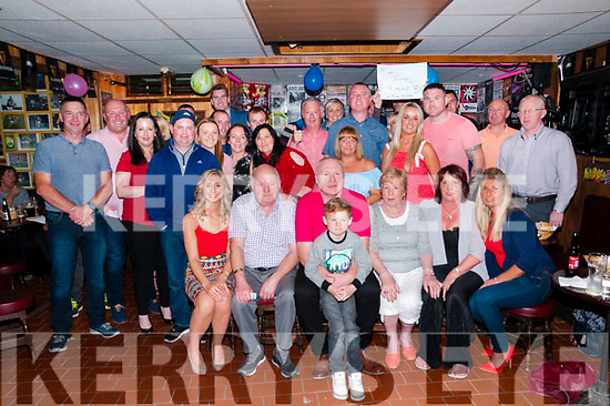 50th Birthday: Mike Dalton, Listowel celebrating his 50th birthdaywith family & friends at Mike the Pies Bar, Listowel on Friday nigh last.