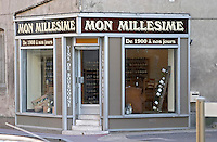 wine shop mon millesime rue fg madeleine beaune cote de beaune burgundy france