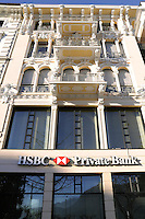 - Lugano, HSBC Bank headquarters....- Lugano, sede della banca HSBC