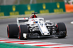12.05.2018 Marcus Ericsson (SWE) Alfa Romeo Sauber F1 Team at Formula One World Championship,  Spanish Grand Prix, Qualifying, Barcelona, Spain
