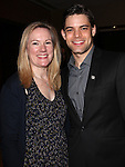 Kathleen Marshall & Jeremy Jordan.Behind the Scenes at the 2012 Tony Award-Meet The Nominees Press Reception at Millennium Broadway Hotel on May 2, 2012 in New York City. © Walter McBride/WM Photography .