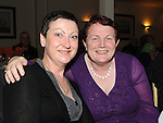 Mary Willis and Geraldine Brady pictured at the Return to Abbey Ballroom with the Flying Carlton at the Glenside hotel. Photo: Colin Bell/pressphotos.ie