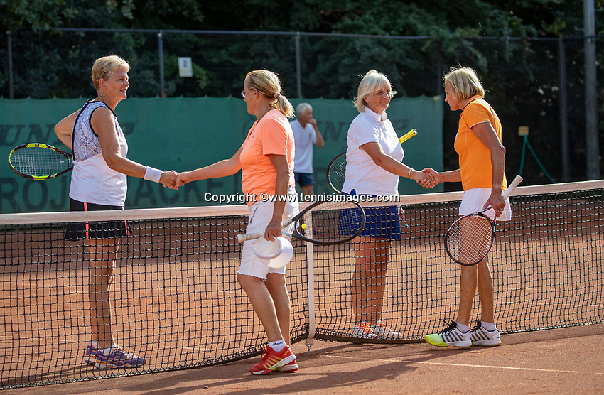 Hilversum, The Netherlands,  August 23, 2019,  Tulip Tennis Center, NSK, Woman's doubles<br /> Photo: Tennisimages/Henk Koster