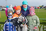 DOG SHOW: The corridon family from Ardfert who entered thir dog into the Maurice Collins Vintage Day on Sunday Dog Show, l-r: Darrah,Simon,Amy and Margaret Corridon their dogs name is Missy (Shitoo).