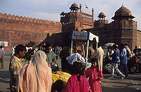 "S?dasien Asien Indien IND Neu Delhi .Rotes Fort Lal Qila in Alt Delhi , gebaut von Shah Jahan 1638 bis 1648 - Old Dehli Altstadt Altstadtviertel Minarett Architektur Baudenkmal Moghul Moghulreich Moghulherrschaft Festung Red Fort Geschichte roter Sandstein historisch Stadtansicht Sehensw?rdigkeit Reise reisen xagndaz | .South Asia India New Delhi .red fort in Old Delhi built by moghul Shah Jahan - old town dehli castle sights .| [ copyright (c) Joerg Boethling / agenda , Veroeffentlichung nur gegen Honorar und Belegexemplar an / publication only with royalties and copy to:  agenda PG   Rothestr. 66   Germany D-22765 Hamburg   ph. ++49 40 391 907 14   e-mail: boethling@agenda-fototext.de   www.agenda-fototext.de   Bank: Hamburger Sparkasse  BLZ 200 505 50  Kto. 1281 120 178   IBAN: DE96 2005 0550 1281 1201 78   BIC: ""HASPDEHH"" ,  WEITERE MOTIVE ZU DIESEM THEMA SIND VORHANDEN!! MORE PICTURES ON THIS SUBJECT AVAILABLE!! INDIA PHOTO ARCHIVE: http://www.visualindia.net ] [#0,26,121#]"