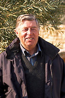Jean-Pierr Brun owner of Olive oil mill Moulin du Calanquet de Saint St Remy de Provence, Bouches du Rhone, France