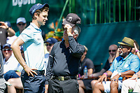 Thomas Detry (BEL) and Gary Player during the final round of the Nedbank Golf Challenge hosted by Gary Player,  Gary Player country Club, Sun City, Rustenburg, South Africa. 11/11/2018 <br /> Picture: Golffile | Tyrone Winfield<br /> <br /> <br /> All photo usage must carry mandatory copyright credit (&copy; Golffile | Tyrone Winfield)