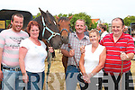 Having a good time at Ballyduff horse fair on Sunday were John O'Sullivan Corrickerry, Mary and Tommy O'Connell, with  Nell and Tom O'Sullivan Ballyhahill, ..   Copyright Kerry's Eye 2008