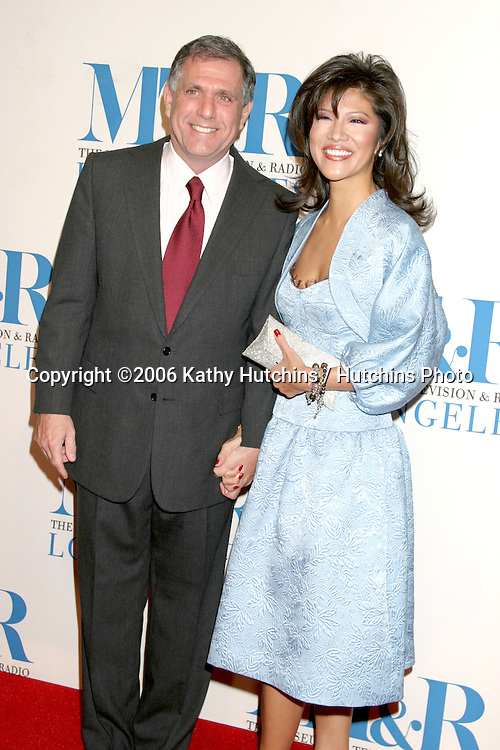 Les Moonves & Julie Chen.Museum of TV & Radio Annual Gala IHO Les Moonves and Jerry Bruckheimer.Regent Beverly Wilshire Hotel.Beverly Hills, CA.October 30, 2006.©2006 Kathy Hutchins / Hutchins Photo....
