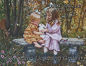 CHILDREN, KINDER, NIÑOS, paintings+++++,USLGSK0122,#K#, EVERYDAY ,Sandra Kock, victorian