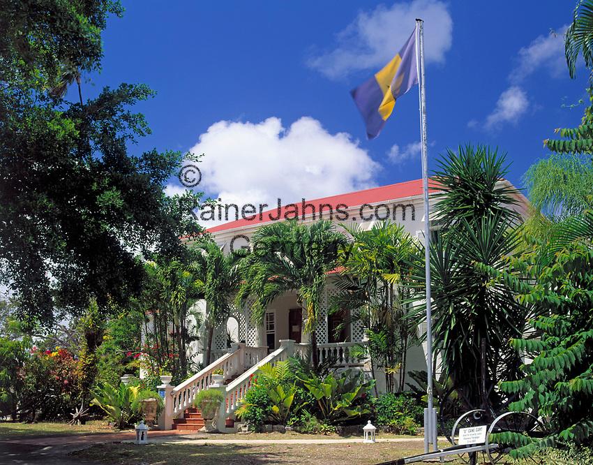 BRB, Barbados, Sunbury Plantation House - alte Kolonialvilla und heute ein Museum | BRB, Barbados, Sunbury Plantation House - museum