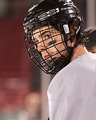 Kyle McKenzie (PC - 5) - The Providence College Friars practiced on the rink at Fenway Park on Friday, January 6, 2017.