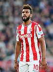 Stoke's Maxim Choupo-Moting in action during the premier league match at the Britannia Stadium, Stoke on Trent. Picture date 9th September 2017. Picture credit should read: David Klein/Sportimage