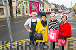 Abbeyfeale Traders  Todd McMahon of McMahons Butchers, Marian Keane of Marellas Fashions, Kathleen O'Keeffe, Trendy Locks Hair Salon and Eileen Stryker , Marellas Fashions