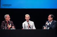 YVES MONTMAYEUR INTERROGE TILDA SWINTON - FESTIVAL LUMIERE 2017 A LYON - MASTERCLASS TILDA SWINTON