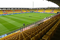 20200310  Calais , France : the Stade de l'Epopee  where the game goes on without fans due to the Corona virus pictured during the female football game between the national teams of  Brasil and Canada on the third and last matchday of the Tournoi de France 2020 , a prestigious friendly womensoccer tournament in Northern France , on Tuesday 10 th March 2020 in Calais , France . PHOTO SPORTPIX.BE | DIRK VUYLSTEKE