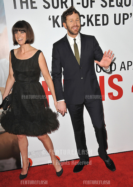 "Chris O'Dowd & wife Dawn Porter at the world premiere of his movie ""This Is 40"" at Grauman's Chinese Theatre, Hollywood..December 12, 2012  Los Angeles, CA.Picture: Paul Smith / Featureflash"