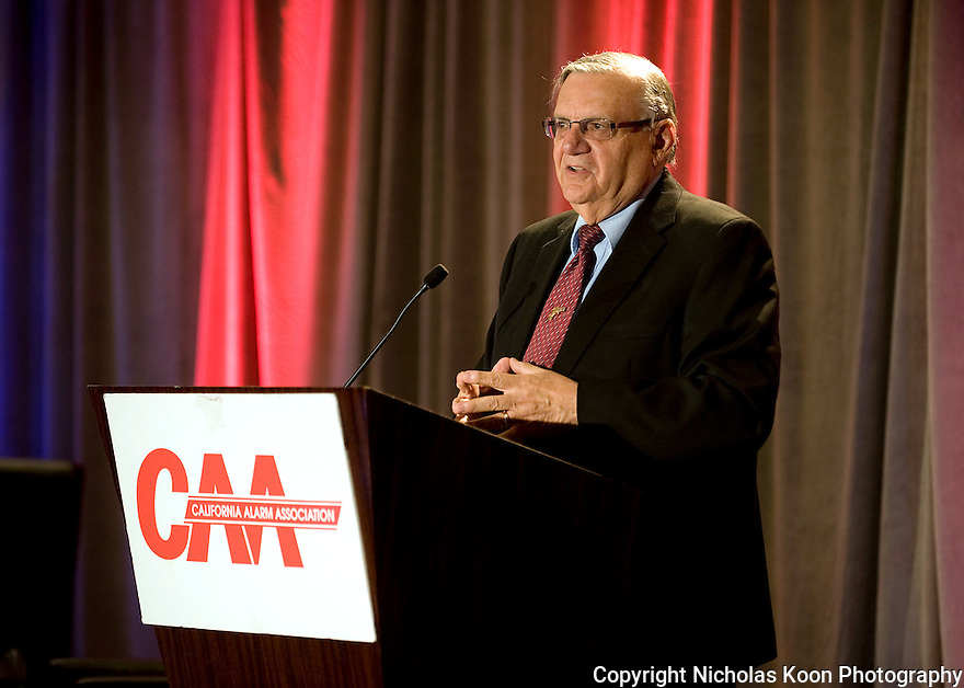 Sheriff Joe Arpaio - 2012 CAA Convention in San Francisco